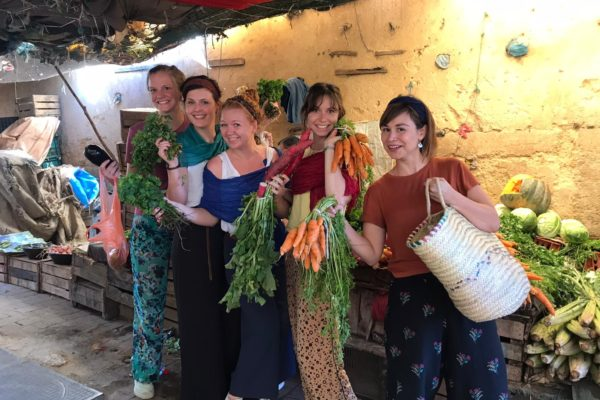 Kookworkshop - groenten kopen